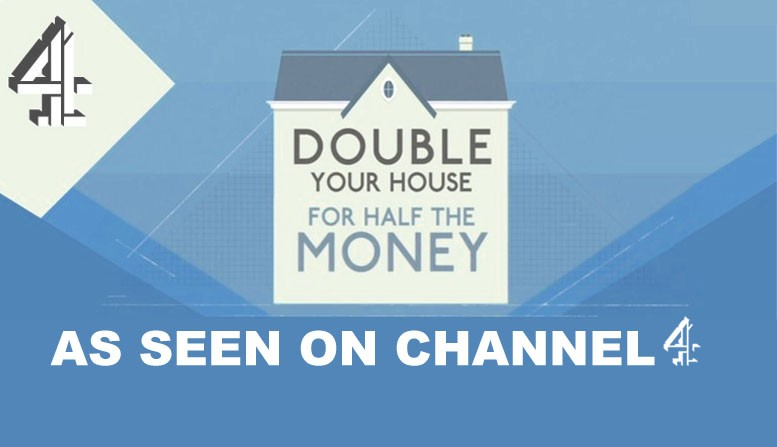 double your house for half the money logo