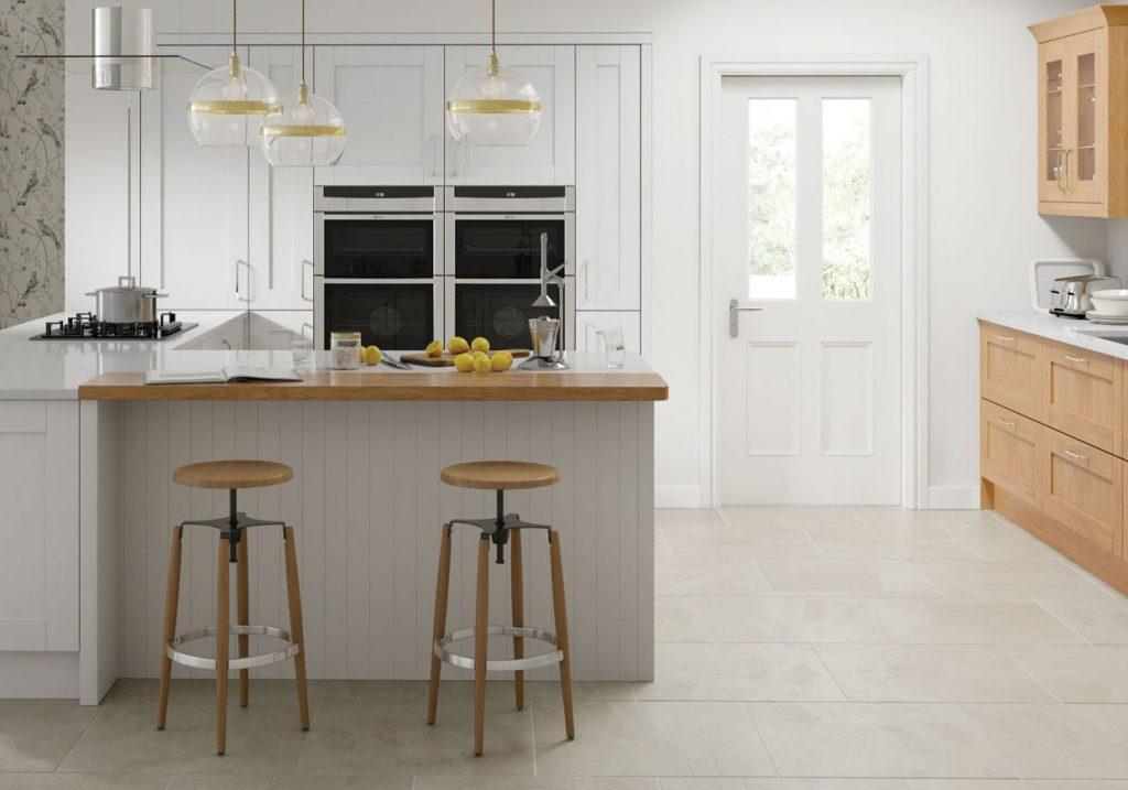 Geneva Shaker kitchen range