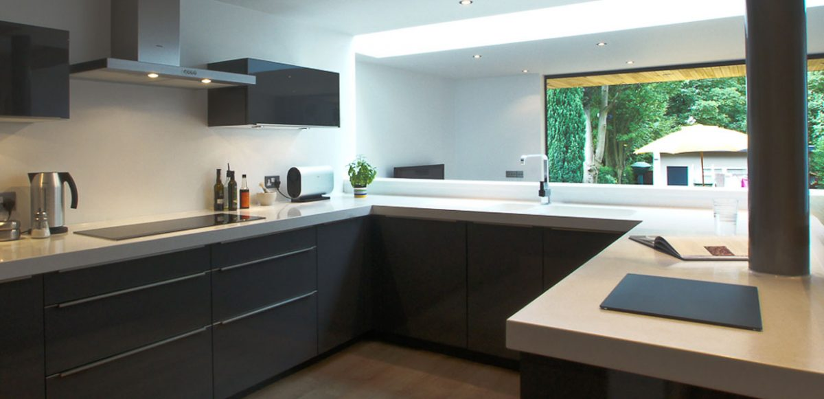 professional kitchen extension and design leeds