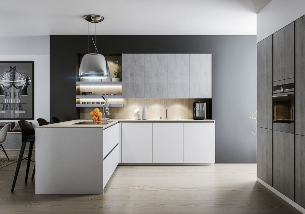 Handleless Kitchens by Direct Online Kitchens