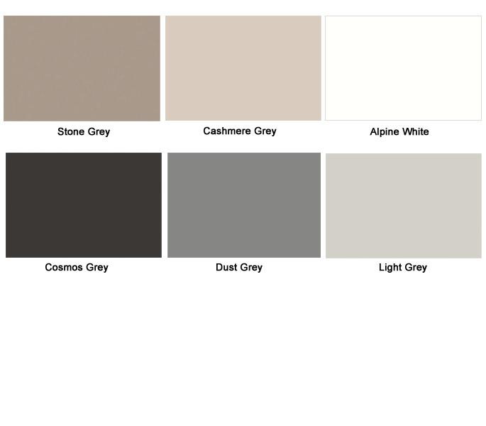 solid colour matt